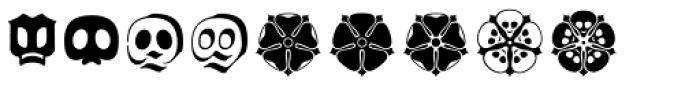 Wittingau Symbols Font UPPERCASE
