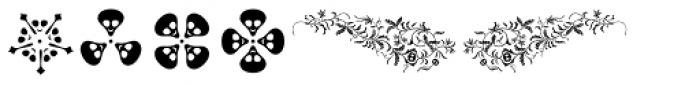 Wittingau Symbols Font LOWERCASE
