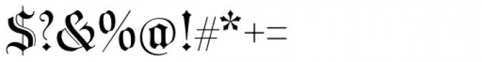 Wittingau Font OTHER CHARS