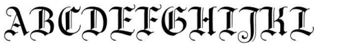 Wittingau Font UPPERCASE