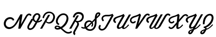 Wisdom-Script Font UPPERCASE