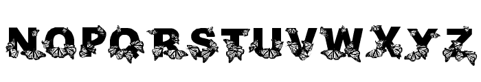 WL Royal Flutter Bold Font UPPERCASE
