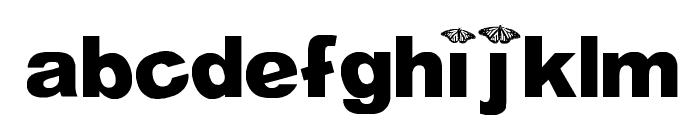 WL Royal Flutter Bold Font LOWERCASE