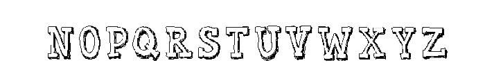 WLM Sketch Cool Regular Font UPPERCASE