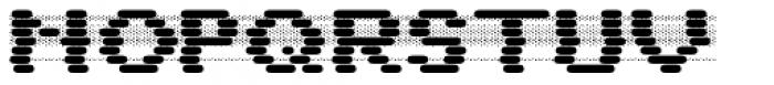 WL Dot Matrix Bad Ribbon Bold Font UPPERCASE