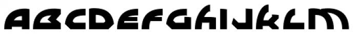 WL Lunatrix Ultra Font LOWERCASE