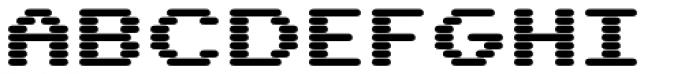 WL Rasteroids Bold Font UPPERCASE
