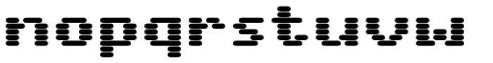 WL Rasteroids Bold Font LOWERCASE