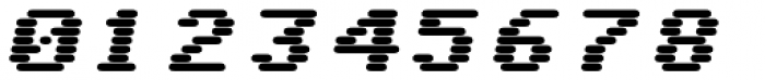 WL Rasteroids Monospace Bold Italic Font OTHER CHARS