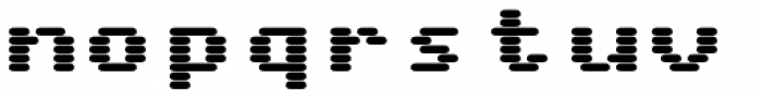 WL Rasteroids Monospace Bold Font LOWERCASE