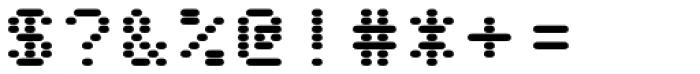 WL Rasteroids Monospace Font OTHER CHARS