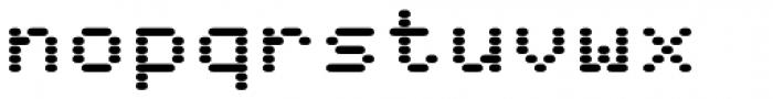 WL Rasteroids Monospace Font LOWERCASE