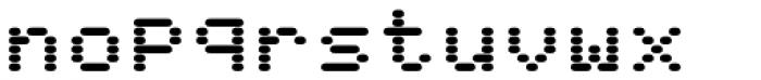 WL Rasteroids Old Mono Font LOWERCASE