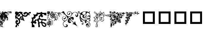 wmcorners3 Font LOWERCASE