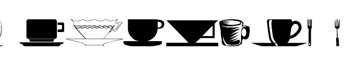 wmdinnerware1 Font LOWERCASE