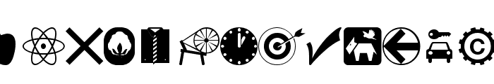 wmsymbols Font LOWERCASE