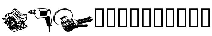 wmtools1 Font UPPERCASE