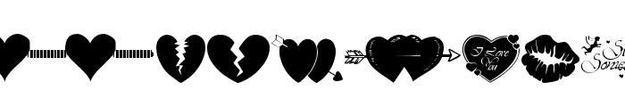 wmvalentine1 Font LOWERCASE