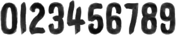 WORKSHOP-Brush Regular otf (400) Font OTHER CHARS