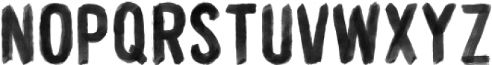 WORKSHOP-Brush Regular otf (400) Font UPPERCASE