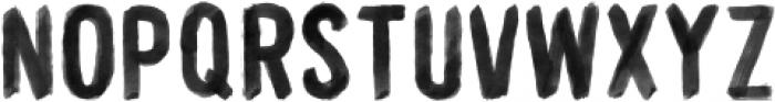 WORKSHOP-Brush Regular otf (400) Font LOWERCASE