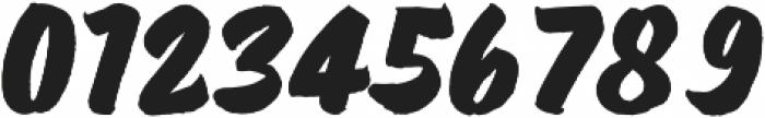 Wolby Slanted Bold otf (700) Font OTHER CHARS