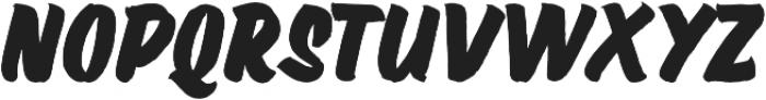 Wolby Slanted Bold otf (700) Font LOWERCASE