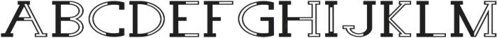 Wolf Font Regular otf (400) Font UPPERCASE