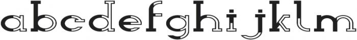 Wolf Font Regular otf (400) Font LOWERCASE