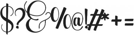 WolfBanePro ttf (400) Font OTHER CHARS
