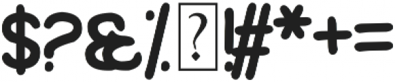 Wolfganger otf (400) Font OTHER CHARS