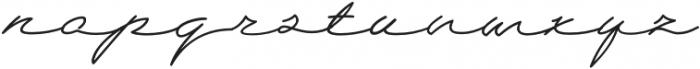 Wolframia otf (400) Font LOWERCASE
