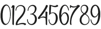 Wolfsbane Regular otf (400) Font OTHER CHARS