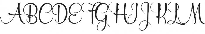 Wolfsbane Regular otf (400) Font UPPERCASE