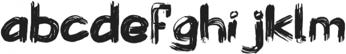 Wolves at Night ttf (400) Font LOWERCASE