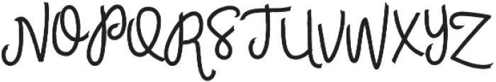Womits otf (400) Font UPPERCASE