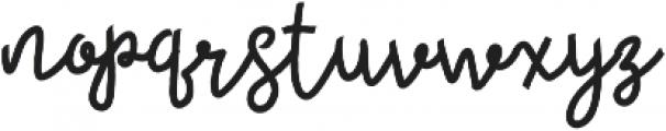 Womits otf (400) Font LOWERCASE