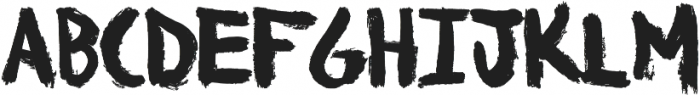 WonderFont otf (400) Font LOWERCASE