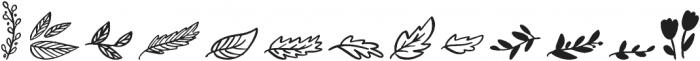 Wonderfall Dingbats otf (400) Font UPPERCASE