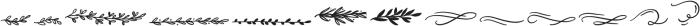 Wonderfall Dingbats otf (400) Font LOWERCASE