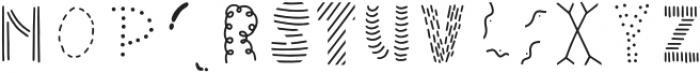 Wonderful Adventure Font - Doodles Regular otf (400) Font UPPERCASE