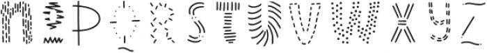 Wonderful Adventure Font - Doodles Regular otf (400) Font LOWERCASE