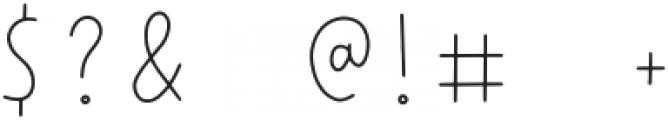 Wonderful Adventure Font - Lines Regular otf (400) Font OTHER CHARS