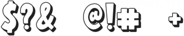 Wonderful Adventure Font - Shadow otf (400) Font OTHER CHARS