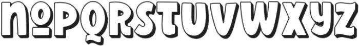 Wonderful Adventure Font - Shadow otf (400) Font LOWERCASE