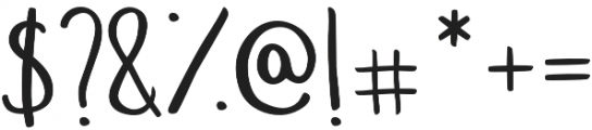 Wonderful_&_Perfect otf (400) Font OTHER CHARS