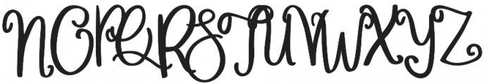 Wonderful_&_Perfect otf (400) Font UPPERCASE