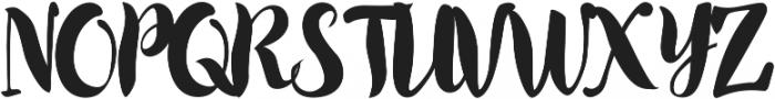 Wonderland Script otf (400) Font UPPERCASE