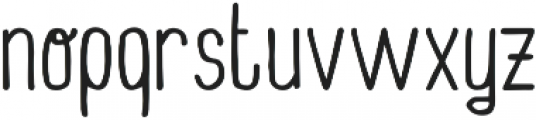 Wonderland ttf (400) Font LOWERCASE
