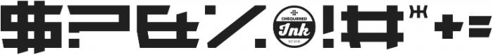 Wondertribute otf (400) Font OTHER CHARS